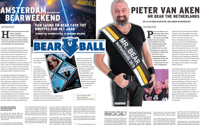 Interview with Mr Bear Netherlands 2019 in Gay News